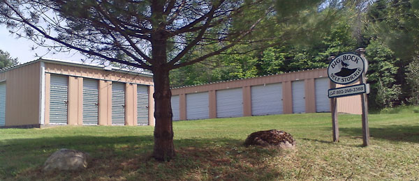 Big Rock Self Storage in Chelsea Vermont
